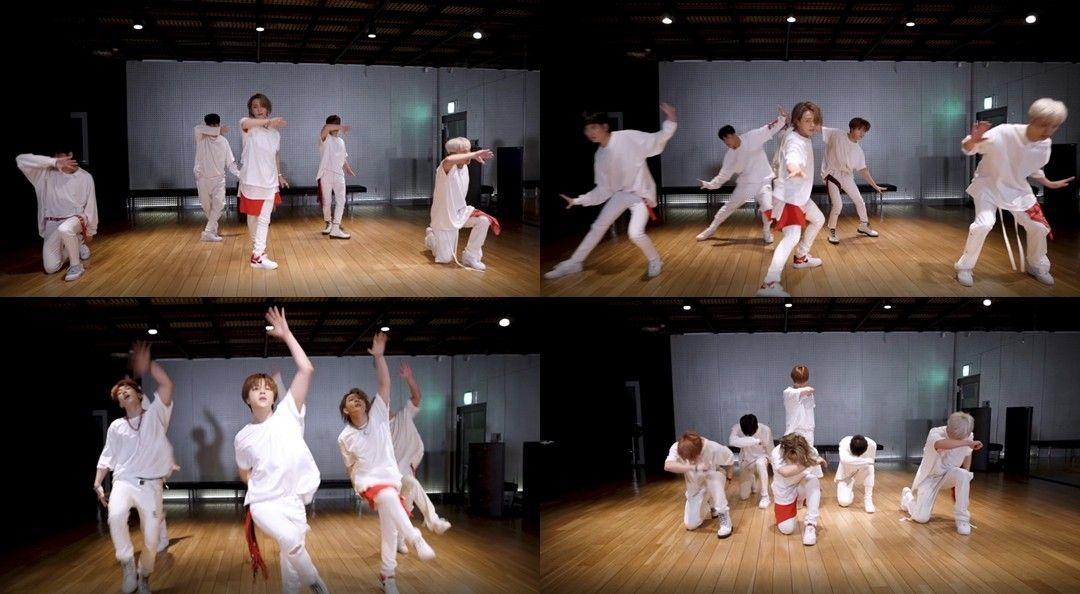 아이콘, '뛰어들게' 안무 영상 공개…메시지 형상화한 표현