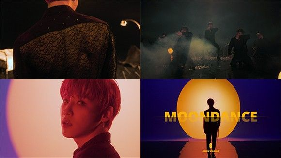 AB6IX 전웅, 첫 솔로곡 'MOONDANCE' 뮤비 티저 공개