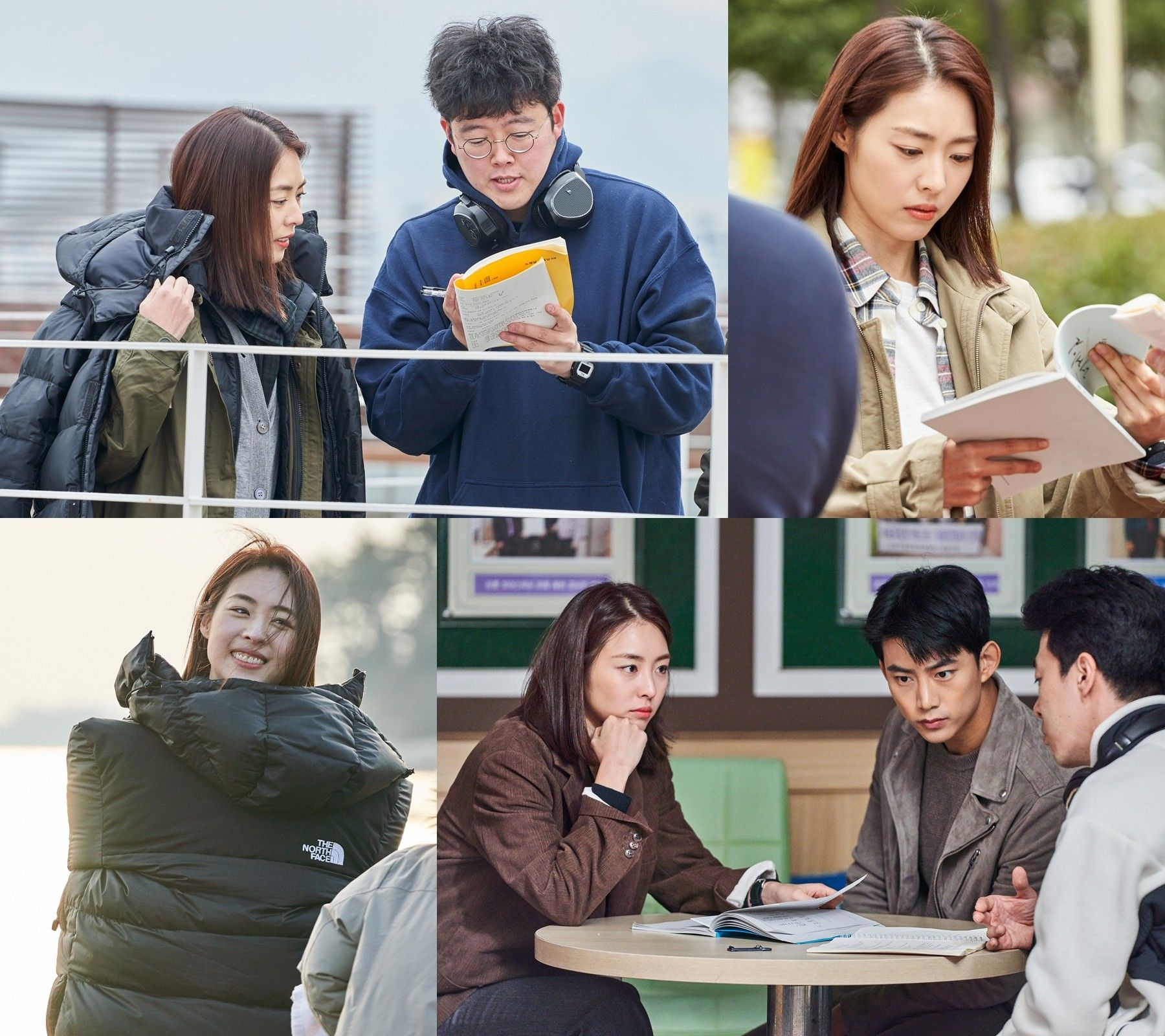 """""""추위에도 대본 몰입""""...이연희, '더게임' 비하인드컷 공개"""