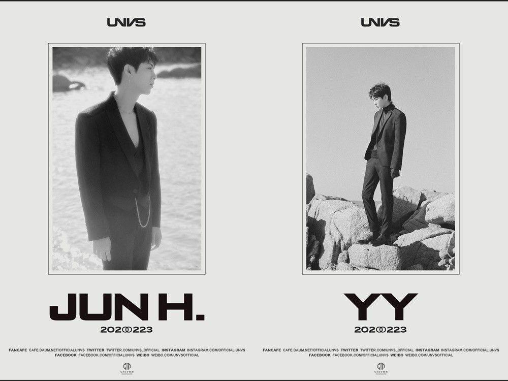 '23일 데뷔' UNVS, 멤버 JUN H.-YY 프로필 공개