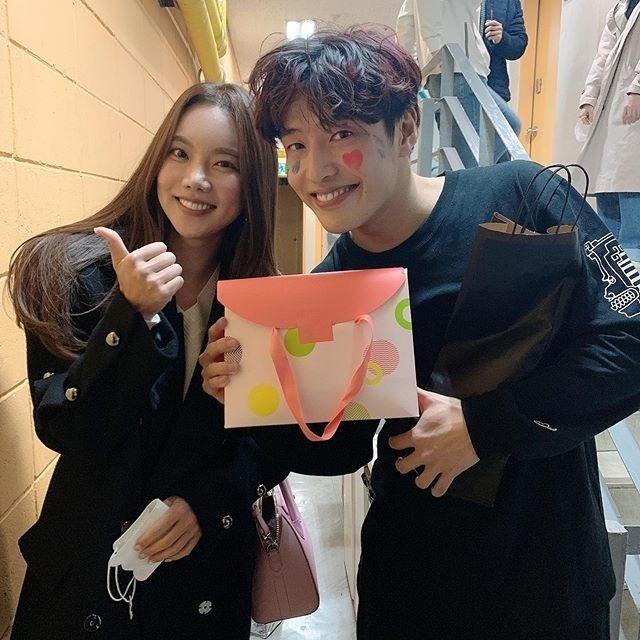 """김나희, 이상형 강하늘 만났다 """"환상이 현실이 됐다"""""""
