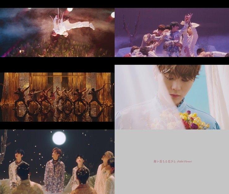 세븐틴, 日 두 번째 싱글 뮤비 최초 공개…비주얼 압권