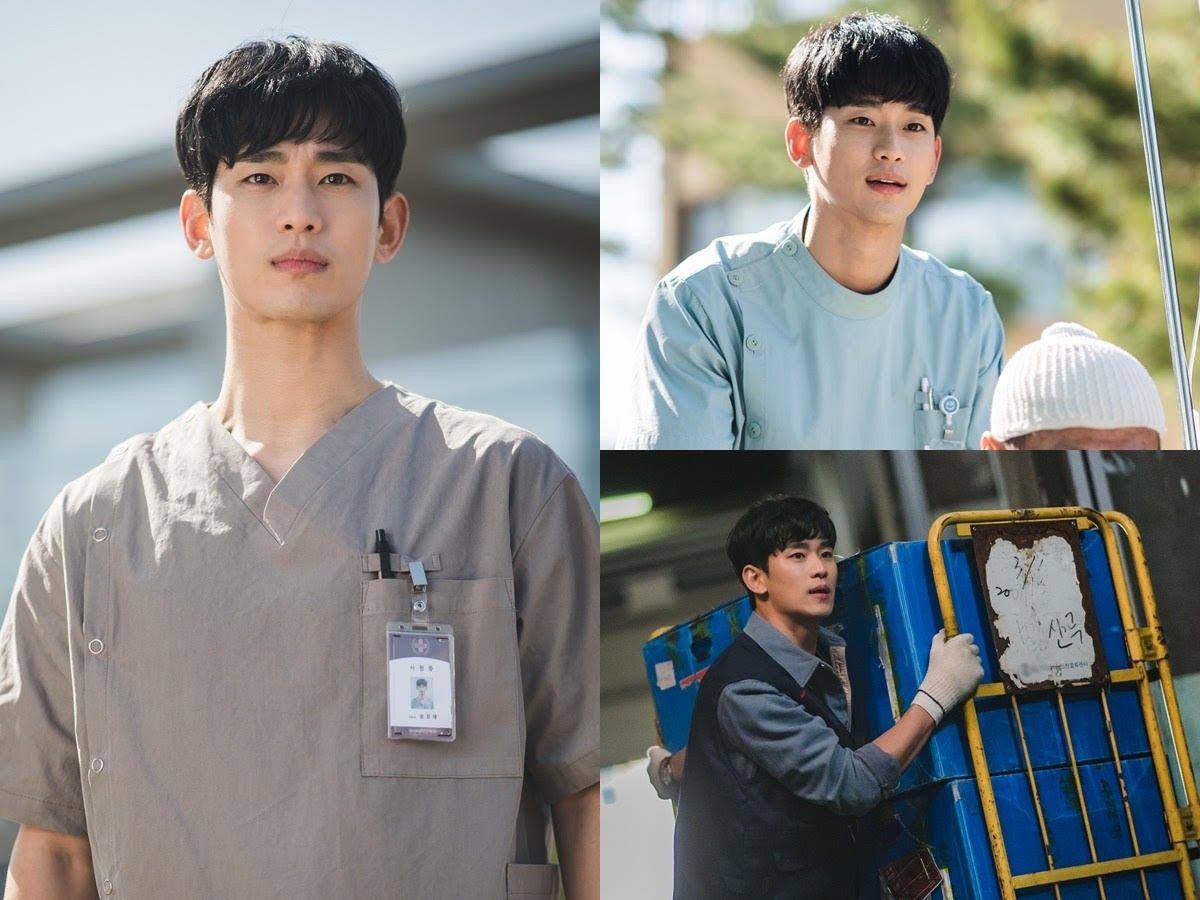 '사이코지만 괜찮아' 김수현, 정신병동 보호사로 변신...첫 스틸 공개