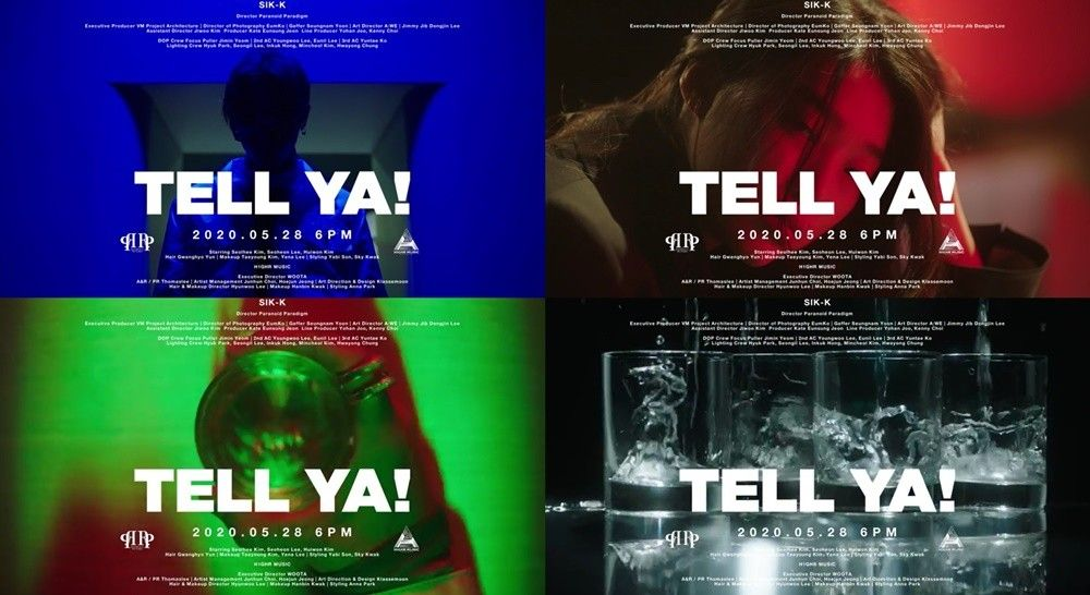 식케이, 28일 새 싱글 'TELL YA!' 발매...2개월 만 초고속 컴백