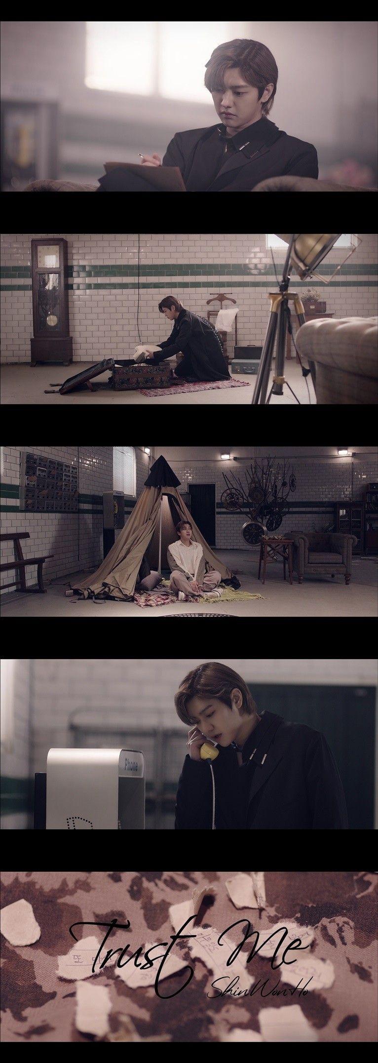 신원호, 감성적 솔로곡 '트러스트 미'…제2막 향한 힘찬 도약