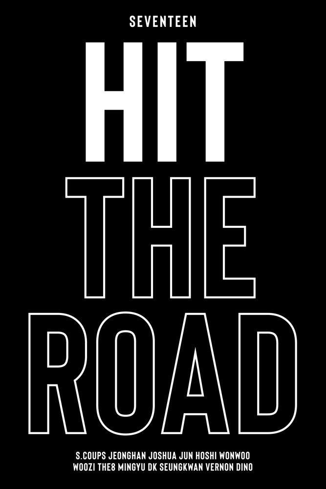세븐틴, 생애 첫 다큐 'SEVENTEEN : HIT THE ROAD'...15일 공개