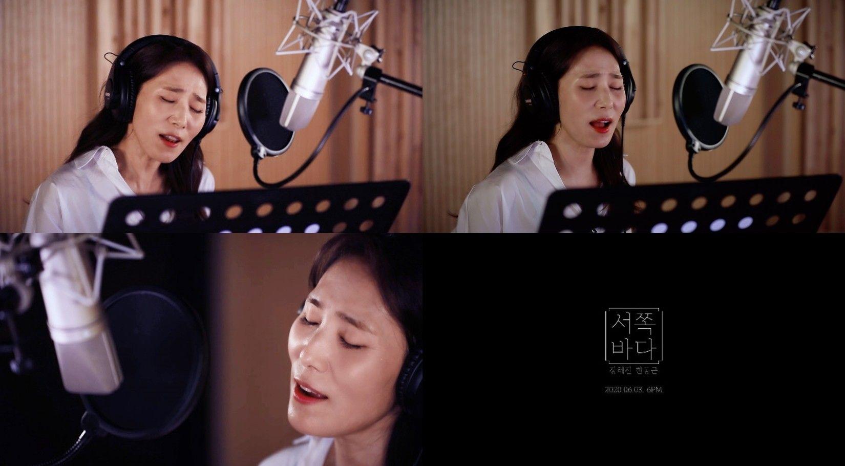 '발라드 여왕의 컴백'...장혜진, '서쪽 바다' 티저 공개