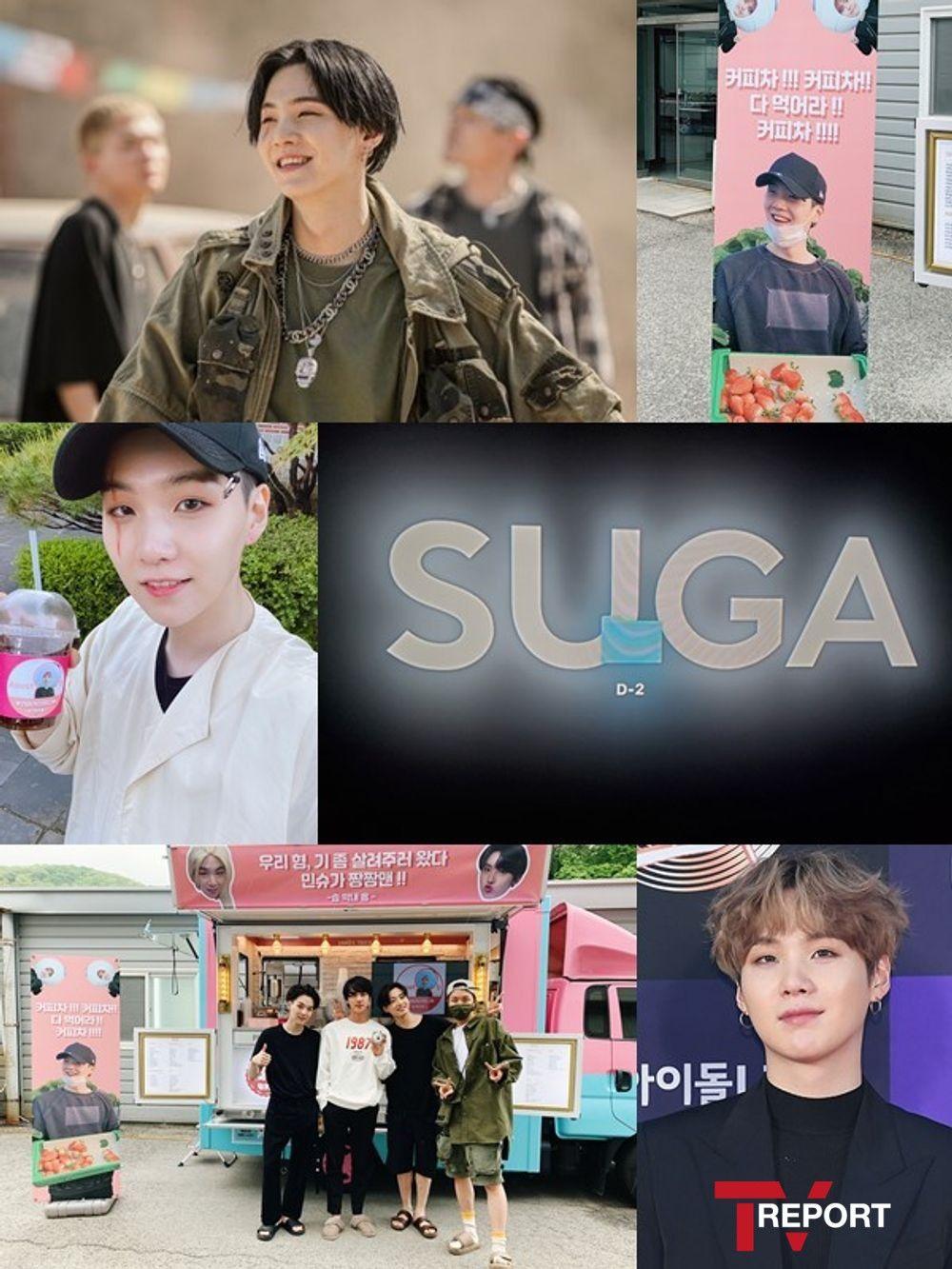 슈가's 믹스테이프 공개→아이튠즈 80곳 1위→의리의 BTS