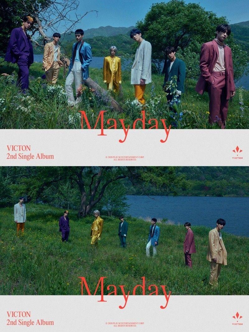 빅톤, 새 싱글 'Mayday' 단체 티저 공개…7인7색 처연美