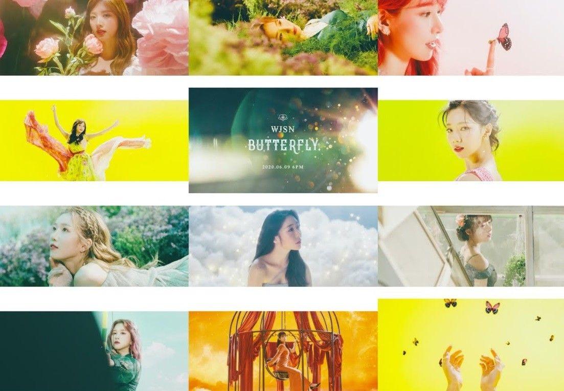 우주소녀, 신곡 '버터플라이' MV 공개... 몽환적인 매력