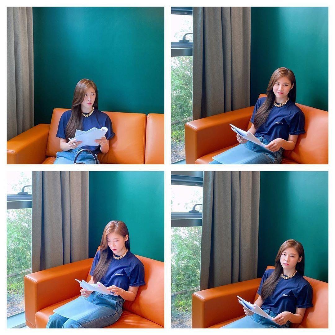 """하지원 """"오랜만·괜찮아·떨림·걱정"""" 심쿵유발 4色 표정"""