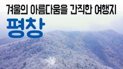 [YTN 구석구석 코리아] 겨울의 아름다움을 간직한 여행지, 평창