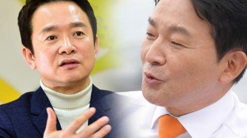 """원희룡, 낙선한 남경필에 """"한국당 가지 말라 그랬는데…"""""""