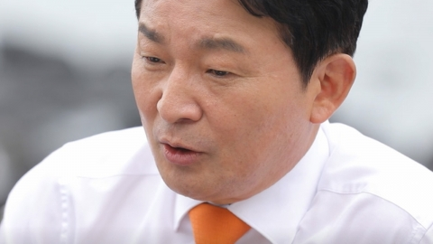 """원희룡이 꼽은 '잠룡'?…""""박원순 시장이 좀 세 보여"""""""