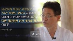 """이철우, 안종범 문자 """"청탁 아닌 민원, 당연히 할 수 있는 이야기"""""""