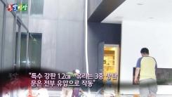 [돌발영상] '최고'와 '최저' - 이부진 사장 실내연못 길이는?