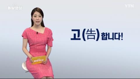 [주간 돌발영상] 8월 첫째 주
