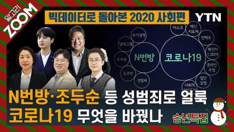 알고리줌(ZOOM) 송년 특집 빅데이터로 돌아본 2020 사회 편