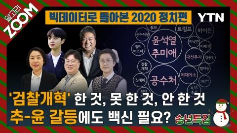 알고리줌(ZOOM) 송년 특집 빅데이터로 돌아본 2020 정치 편