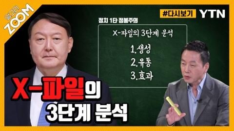 """[#알고리줌] 이언주 """"윤석열, X파일 극복 못 하면, 대통령 못 해"""""""