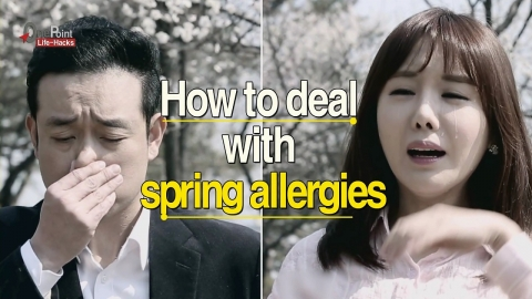 How to deal with Spring Allergies