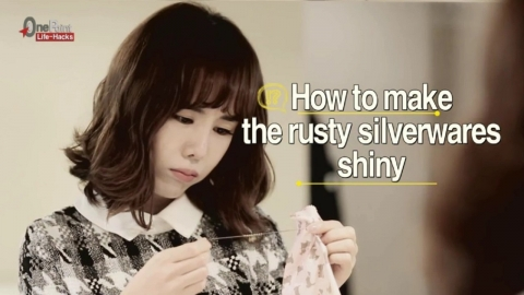 How to make rusty silverwares as good as new!