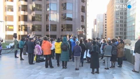"""샌프란시스코에서 울린 한중일의 메아리…""""일본 정부는 사죄하라"""""""