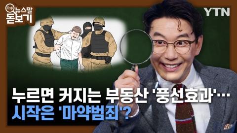 누르면 커지는 부동산 '풍선효과'…시작은 '마약범죄'?