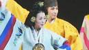 한국적 몸짓에 환호!...'코리아 판타지'