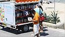 책읽는 즐거움…'거리도서관' 인기