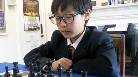 '체스 신동' 상연 군의 도전