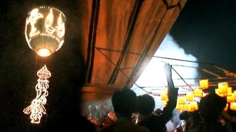 '높이 높이 날아라'…전통 열기구 축제