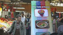 전통 시장 속 '한국 식품'