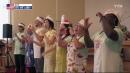 '김치 사랑 노래' 부르는 외국인 중창단