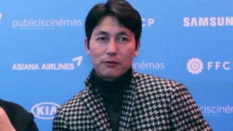파리 한국 영화제를 빛낸 정우성