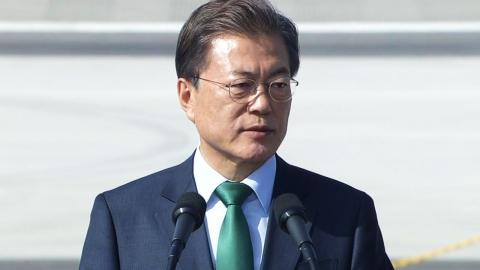 문재인 대통령, 서울 국제항공우주·방위산업 전시회 참석