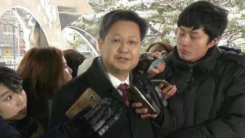 '부당노동행위' 혐의 김장겸 前 MBC 사장 검찰 조사