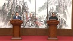 남북 정상, 공동 기자회견