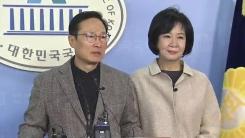 '투기 의혹' 손혜원 의원 기자회견