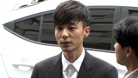 '음란물 유포' 로이킴, 경찰에 출석