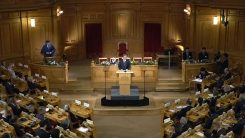 문재인 대통령 스웨덴 의회 연설 질의응답