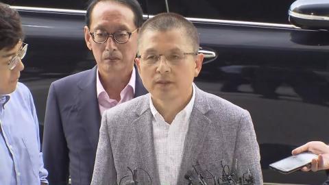 '패스트트랙 충돌' 황교안 대표 검찰 자진 출석