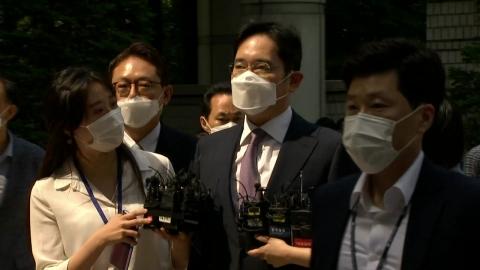 이재용 오늘 구속영장 심사…법원 출석