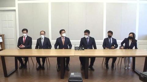 여야 원내대표 다시 회동…'총리 인준안' 처리 논의
