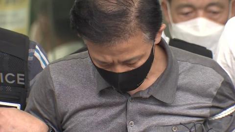 '전자발찌 연쇄살인' 강윤성 검찰 송치…유치장 나와 이동