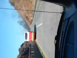 논산천안고속도로 상행 포터차량화재