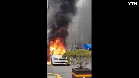 [기타] Bmw520d 인천 주안에서 또 화재
