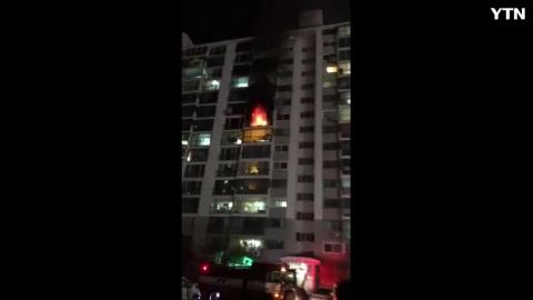 [사고현장] 대전 월평동 화재