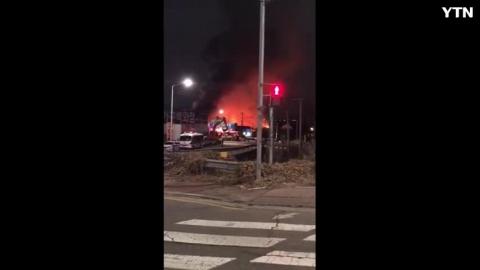 [사고현장] 일산 풍동 성원에이스 근처 화재