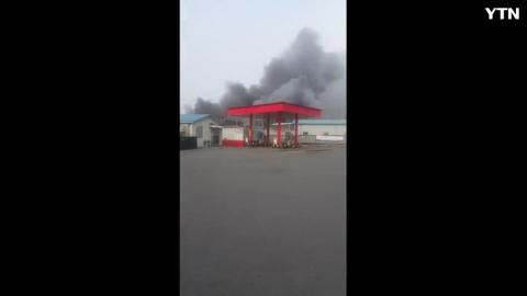[사고현장] 어제 일산 설문동 근처 화재